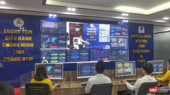 Trung tâm Điều hành thông minh (IOC) tỉnh Quảng Nam