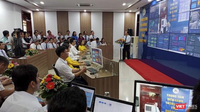 Trung tâm điều hành thông minh IOC Quảng NAm trong ngày khai trương