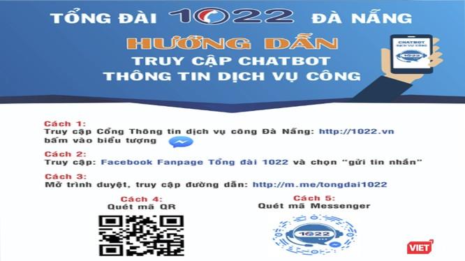 Hướng dẫn cài đặt ứng dụng Chatbot 1022 Đà Nẵng
