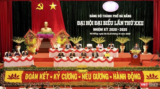 Quang cảnh Đại hội Đảng bộ TP Đà Nẵng khoá XXII nhiệm kỳ 2020-2025.