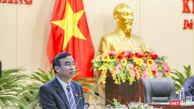 Ông Lê Trung Chinh vừa được HĐND TP Đà Nẵng bầu giữ chức vụ Chủ tịch UBND TP Đà Nẵng