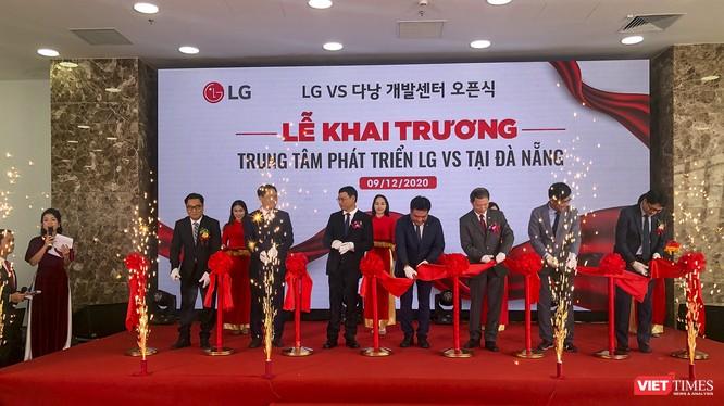 Quang cảnh lễ khai trương Trung tâm nghiên cứu LG VS của Tập đoàn LG tại Đà Nẵng