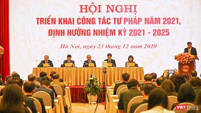 Quang cảnh hội nghị (ảnh Lê Quang - TTTT)