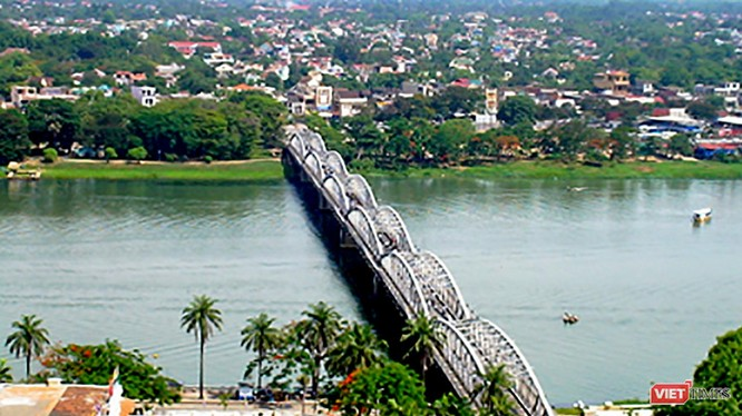 Một góc TP Huế (ảnh thuathienhue.gov)