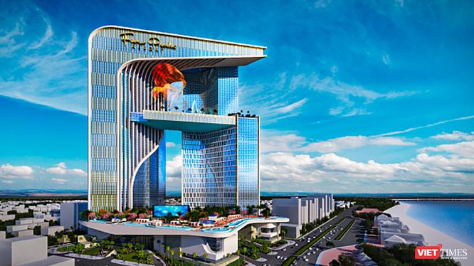 Phối cảnh Trung tâm tài chính tại Đà Nẵng (ảnh IPPG)
