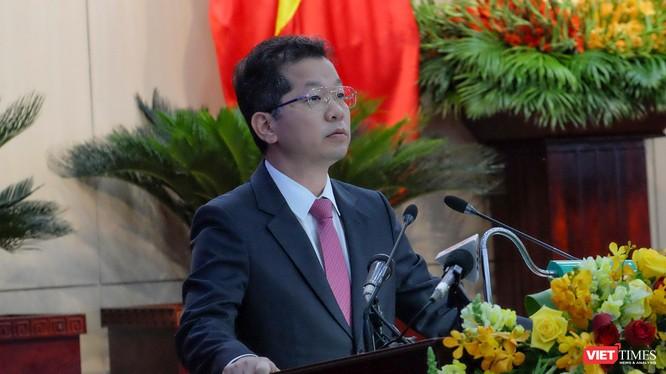 Ông Nguyễn Văn Quảng - Bí thư Thành uỷ Đà Nẵng phát biểu chỉ đạo tại kỳ họp thứ 17, HĐND TP Đà Nẵng khoá IX nhiệm kỳ 2016-2021