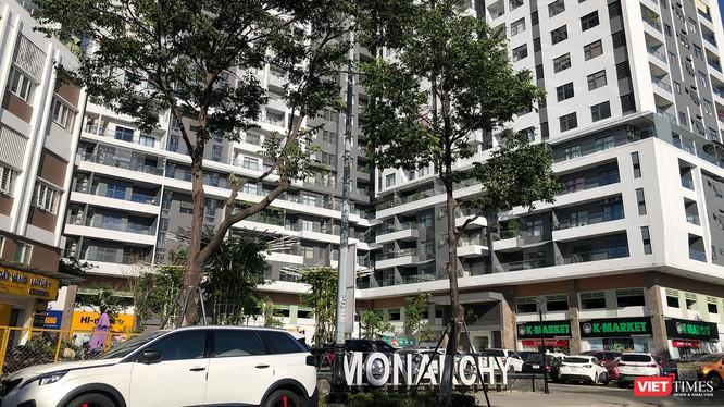 Khu phức hợp nghỉ dưỡng Monarchy Block B (trên địa bàn phường An Hải Tây, quận Sơn Trà, TP Đà Nẵng)