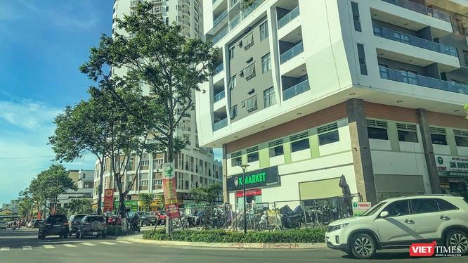 Một góc công trình Chung cư Monarchy Block B (Đà Nẵng) do Công ty CP Đầu tư và Phát triển nhà Đà Nẵng làm chủ đầu tư