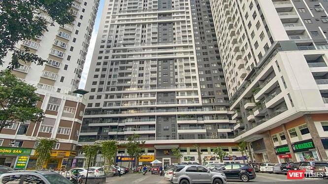 Bất chấp văn bản của chính quyền Đà Nẵng, hoạt động của chung cư Monarchy block B vẫn diễn ra bình thường