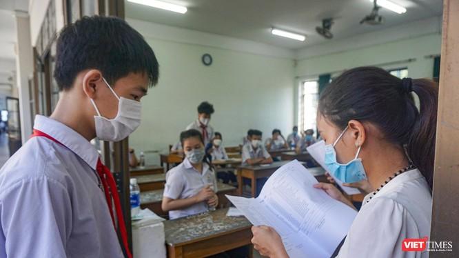 Thí sinh tham dự kỳ thi lớp 10 THPT năm học 2021-2022 trên địa bàn TP Đà Nẵng