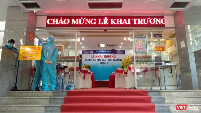 Bệnh viện Phụ sản - Nhi Đà Nẵng cơ sở 2 tại địa chỉ 26C đường Chu Văn An (phường Bình Hiên, quận Hải Châu, TP Đà Nẵng). (Ảnh Minh Hiền)