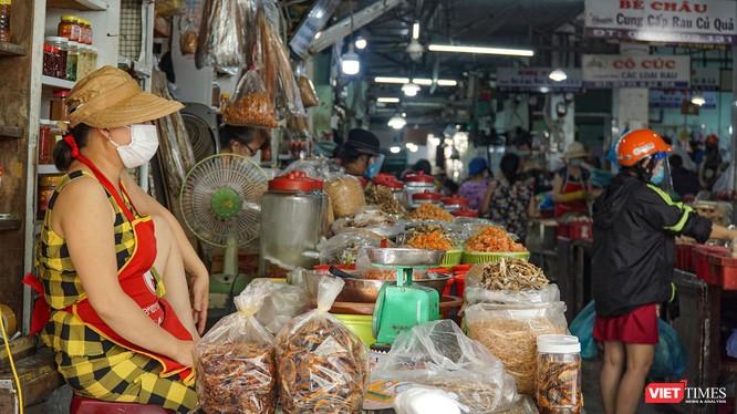 Một góc chợ truyền thống trên địa bàn TP Đà Nẵng