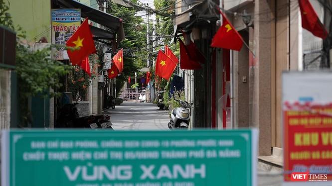 Một khu vực vùng xanh trên địa bàn quận Hải Châu, TP Đà Nẵng