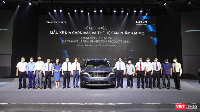 Đại diện tỉnh Quảng Nam, Tập đoàn THACO và đại diện KIA tại buổi sự kiện