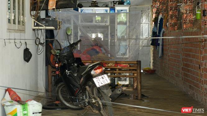 Hiện trường vụ án Trần Văn Đến chém chết hàng xóm vì mâu thuẫn đất đai.