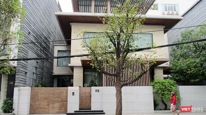 """Toàn cảnh căn nhà số 82 Trần Quốc Toản, nơi ông Phan Văn Anh Vũ (Vũ """"nhôm"""") cư trú."""