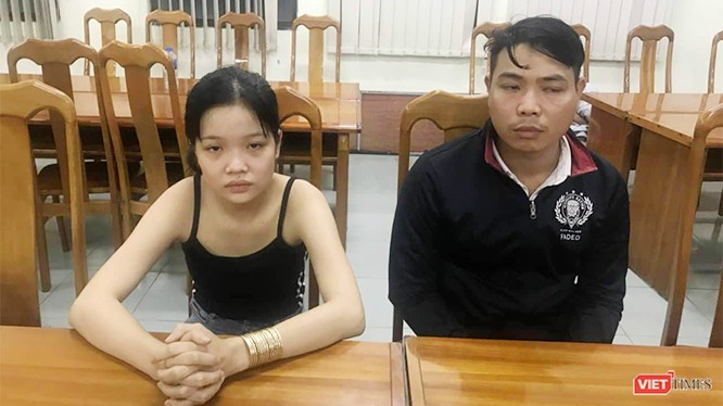 Hai đối tượng trong băng nhóm giả gái mại dâm luộc đồ của khách hám của lạ vừa bị bắt.