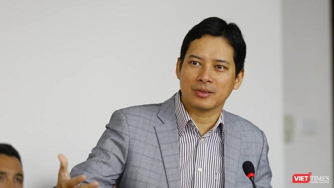 Ông Lê Quang Tự Do tại buổi thảo luận về An toàn Thông tin do Câu lạc bộ nhà báo CNTT tổ chức