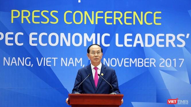 Chủ tịch nước Trần Đại Quang tại APEC 2017 - Ảnh: Hồ Xuân Mai
