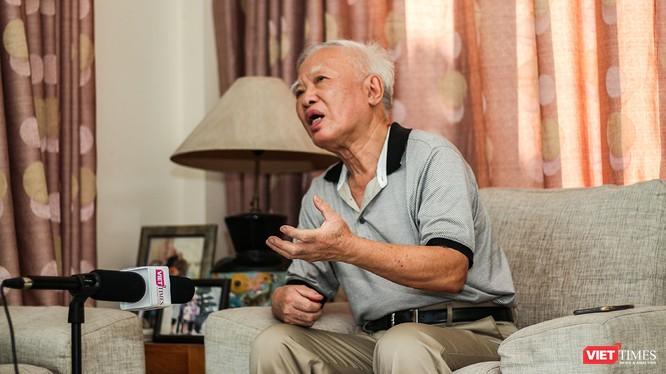 Nguyên Phó Thủ tướng Vũ Khoan (Ảnh: Ngô Minh)