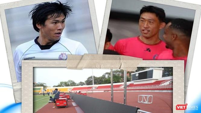 Chỉ có 2 ngoại binh châu Á Seo Yong-duk (TP.HCM) và Ahn Byung-keon (Sài Gòn FC) tại V.League 2020. Ảnh VT
