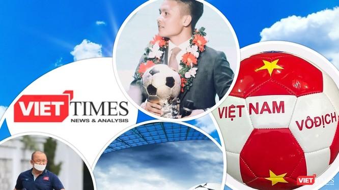 """Sau khi vô địch AFF Cup và SEA Games, đội tuyển Việt Nam đã tính đến việc """"ra biển lớn"""". Ảnh VT"""