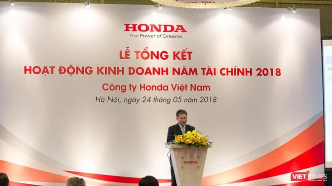 Mục tiêu của Honda Việt Nam trong năm tài chính 2019 là cố gắng giữ vững doanh số và thị phần của mình trên thị trường.