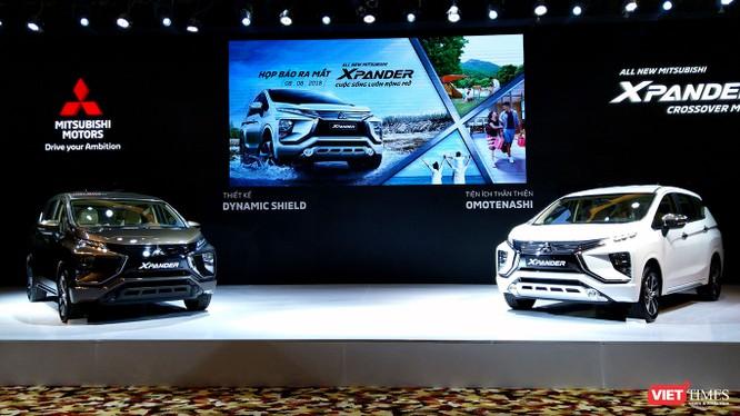 Đối thủ thực sự của mẫu xe đa dụng Mitsubishi Xpander là Toyota Rush, Honda BRV.