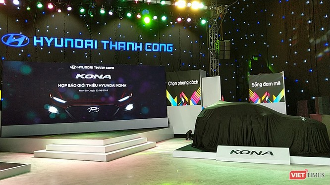 Lễ ra mắt Hyundai Kona
