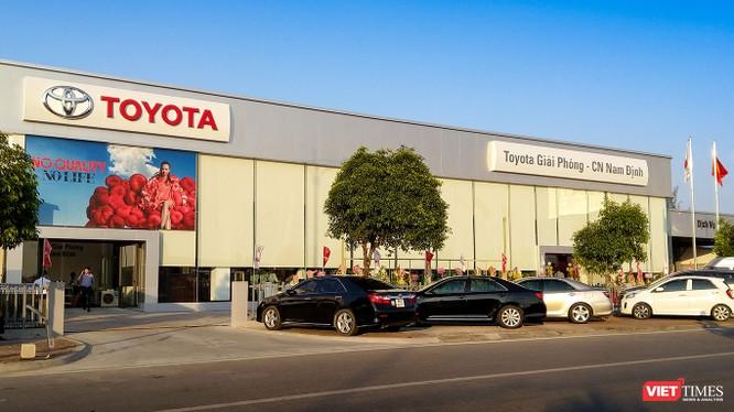 Toyota Giải Phóng - chi nhánh Nam Định sẽ giúp thương hiệu Toyota được mở rộng tới 2 tỉnh Nam Định và Thái Bình. (Ảnh: Ngô Minh)