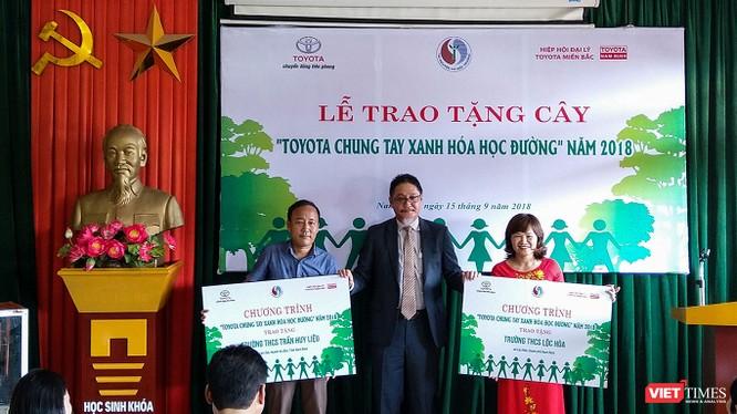 Chương trình đã trồng được gần 3.700 cây xanh tại 29 trường học trên cả nước.