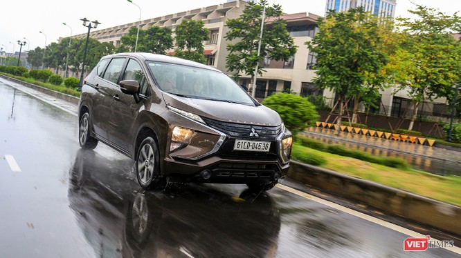 Mitsubishi Xpander khả năng sẽ là mẫu xe đắt khách trong thời gian tới nhờ giá bán hợp lý với thiết kế và tiện nghi phù hợp với số tiền khách hàng phải trả. (Ảnh: Ngô Minh)