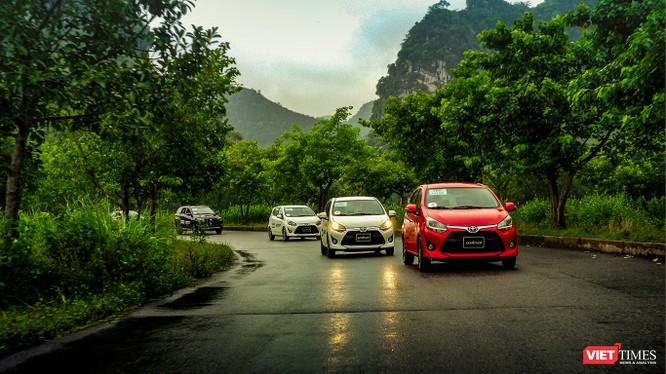 Điểm mạnh của Toyota Wigo là sự rộng rãi, độ tin cậy cao và có một thương hiệu mạnh. (Ảnh: Ngô Minh)
