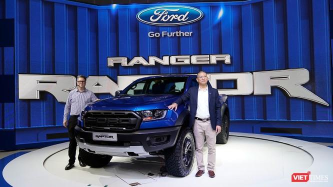 Ford Ranger Raptor được nhập khẩu nguyên chiếc từ Thái Lan. (Ảnh: Ngô Minh)