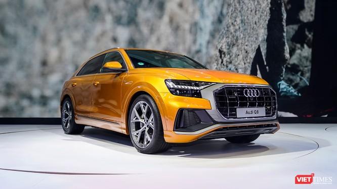 Audi Q8 hoàn toàn mới tới thị trường Việt Nam tại triển lãm VMS 2018 như là một dấu mốc kỷ niệm 10 năm thành công liên tiếp của Audi tại Việt Nam. (Ảnh: Ngô Minh)