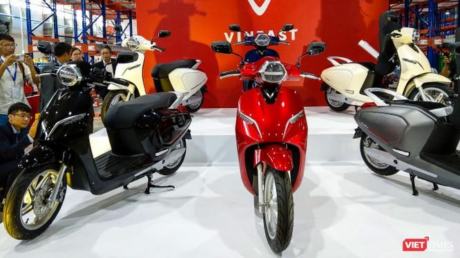 Mẫu xe máy điện VinFast Klara được thiết kế dành riêng cho thị trường trong nước. (Ảnh: Ngô Minh)