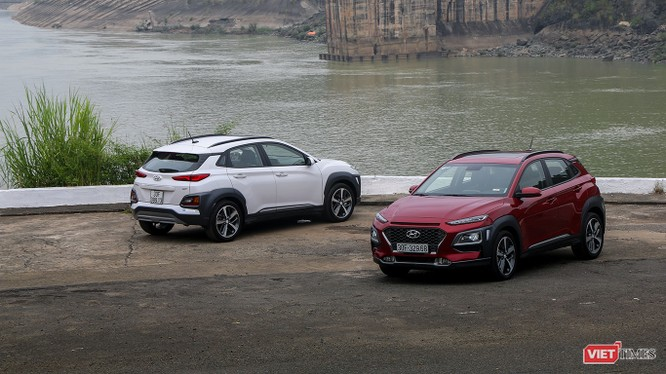 Hyundai Kona đã nhanh chóng vượt qua Ford EcoSport để chở thành mẫu xe bán chạy nhất phân khúc chỉ sau 2 tháng có mặt trên thị trường (Ảnh: Ngô Minh)