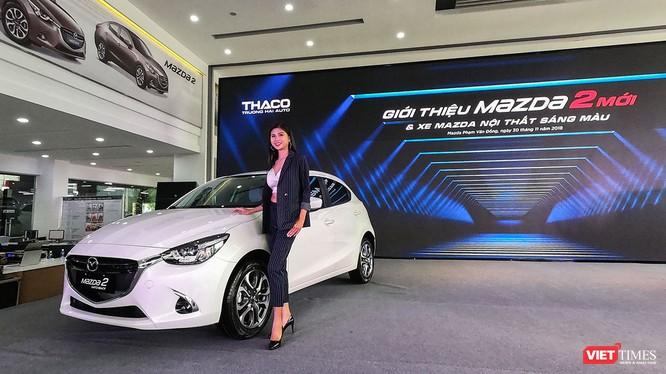 Mazda 2 2018 sẽ không còn được lắp ráp CKD tại nhà máy của Thaco mà được chuyển sang dạng nhập khẩu nguyên chiếc từ Thái Lan. (Ảnh: Ngô Minh)