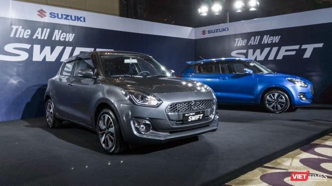 Kiểu dáng của Suzuki Swift 2018 vẫn kế thừa phong cách thiết kế nhỏ gọn. (Ảnh: Ngô Minh)