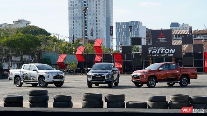 Mitsubishi Triton 2019 dường như cũng đang mang đến một khái niệm mới cho dòng bán tải. (Ảnh: Ngô Minh)