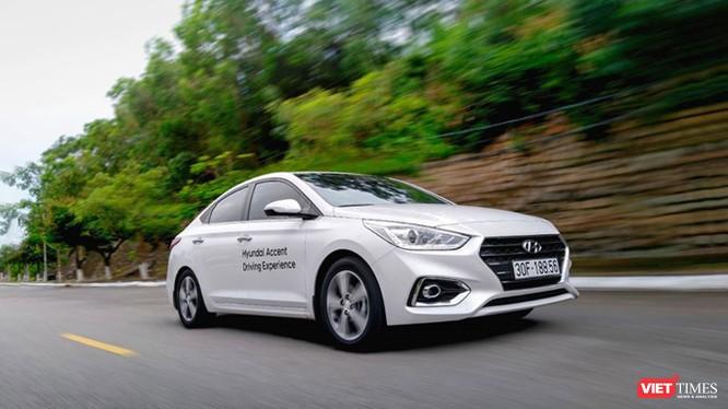 Đây đã là tháng thứ 4 liên tiếp, mẫu xe sedan hạng B Accent dẫn đầu bảng danh sách bán hàng của Hyundai Thành Công. (Ảnh: Ngô Minh)