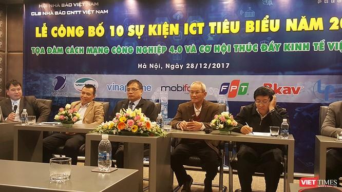 """Tọa đàm """"Cách mạng 4.0 và cơ hội thúc đẩy kinh tế số Việt Nam"""" do CLB Nhà báo Công nghệ Thông tin tổ chức"""