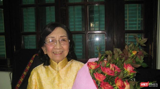 GS TSKH Phạm Thị Trân Châu - Chủ tịch Hội Nữ Trí thức Việt Nam