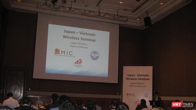 Hội thảo Giải pháp và Công nghệ Không dây Việt Nam - Nhật Bản