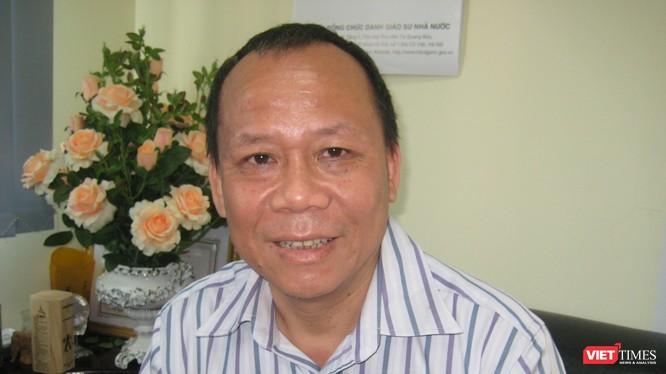 GS TS Nguyễn Văn Hiệp - Viện trưởng Viện Ngôn ngữ học