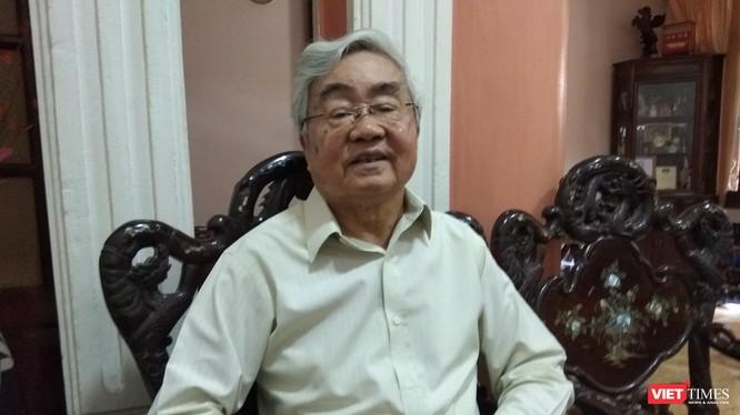 GS VS Phạm Minh Hạc - nguyên Bộ trưởng Bộ Giáo dục, Chủ tịch Hội Cựu Giáo chức Việt Nam