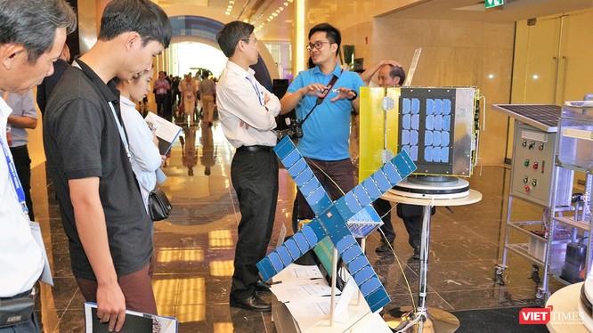 Các mẫu vệ tinh giám sát của Viện Hàn lâm Khoa học Công nghệ Việt Nam