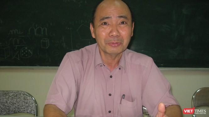 PGS TS Tống Đình Quỳ - Chủ tịch Hội Ứng dụng Toán học Việt Nam. (Ảnh: Đ.H)