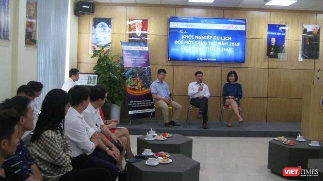 Một buổi tọa đàm về khởi nghiệp trong lĩnh vực du lịch tại Đại học Quốc gia Hà Nội