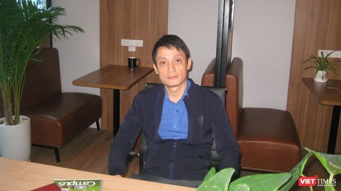 Anh Nguyễn Việt Anh - chủ nhiệm dự án khởi nghiệp chợ điện tử Vbuy.vn